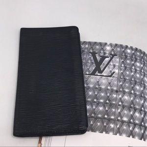 Louis Vuitton Epi Porte Bifold Leather Long Wallet